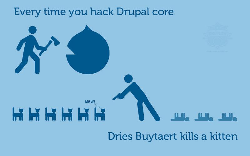 drupal или самопис