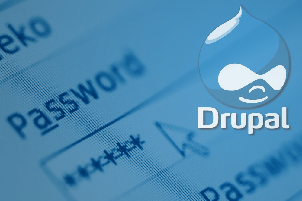drupal password reset