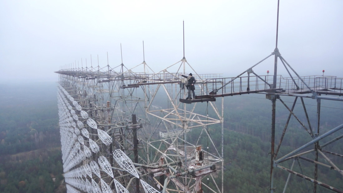 Русский дятел Чернобыль