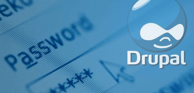 drupal password reset
